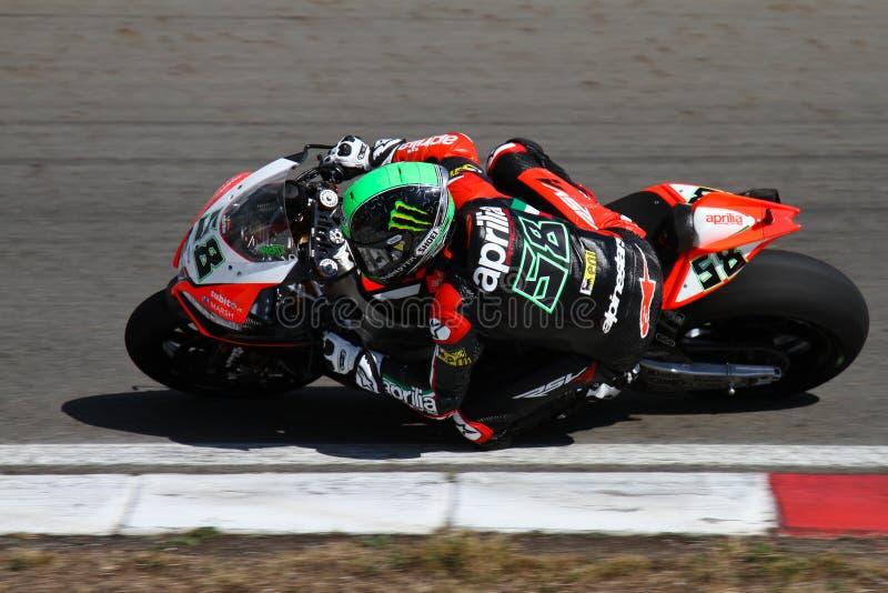 Campionato del Superbike del mondo immagine stock