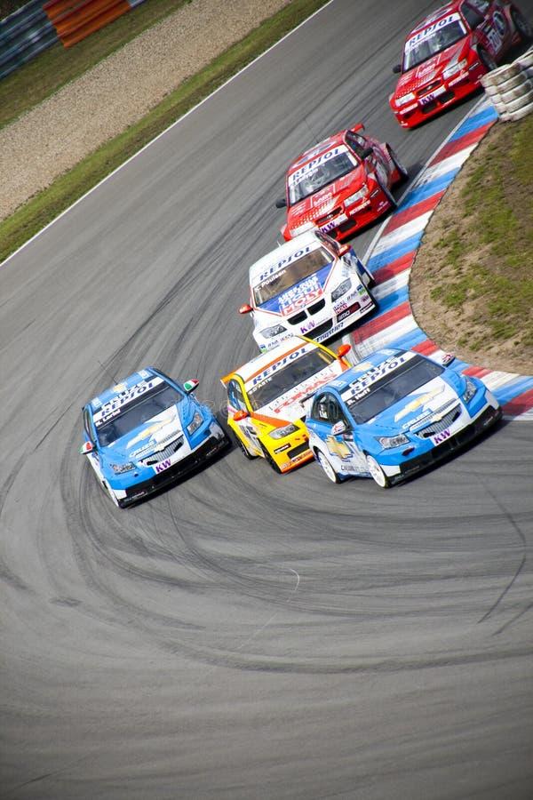 Campionato dell'automobile di visita del mondo a Brno 2009 immagini stock