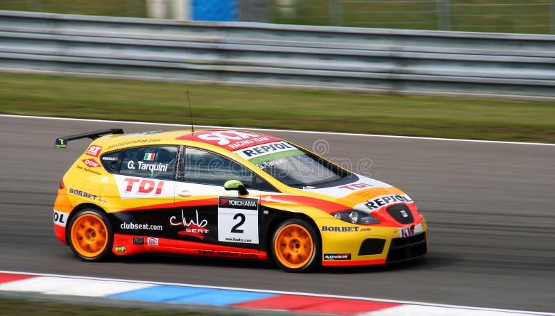 Campionato dell'automobile di visita del mondo nel tarqin 2009 di Brno fotografie stock