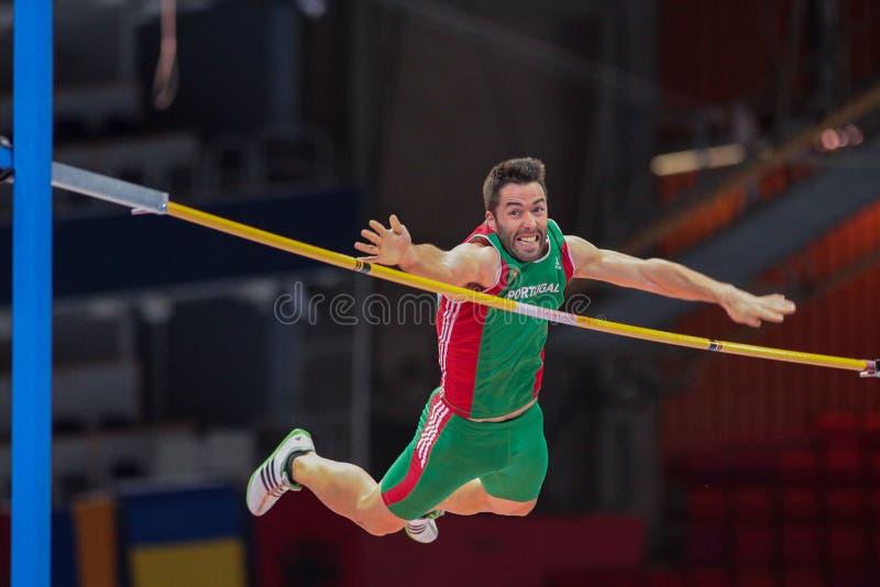Campionato dell'interno europeo 2013 di atletica immagini stock