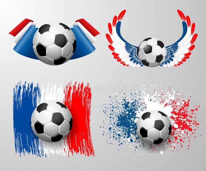 Campionato di calcio della Francia royalty illustrazione gratis