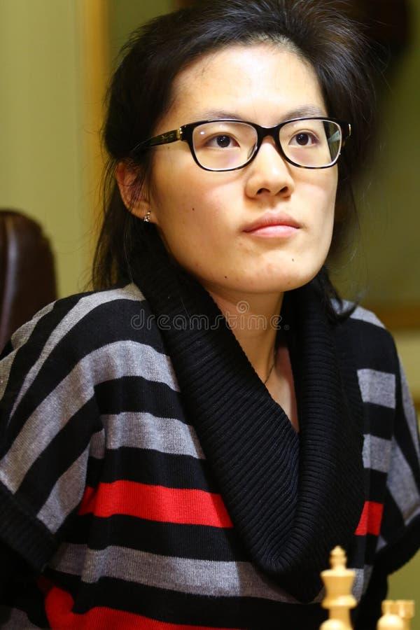 Campionato di scacchi del mondo delle donne di FIDE fotografia stock