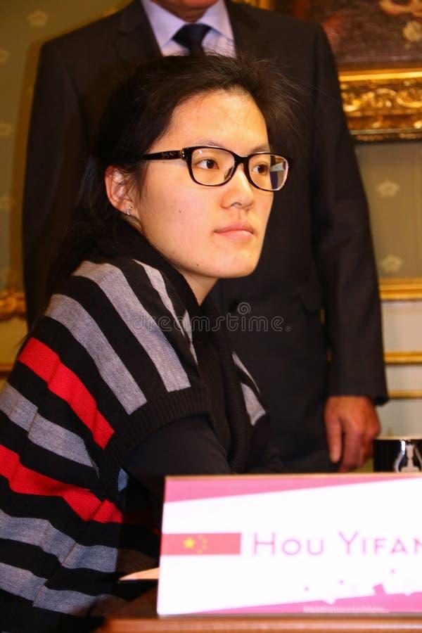 Campionato di scacchi del mondo delle donne di FIDE immagine stock