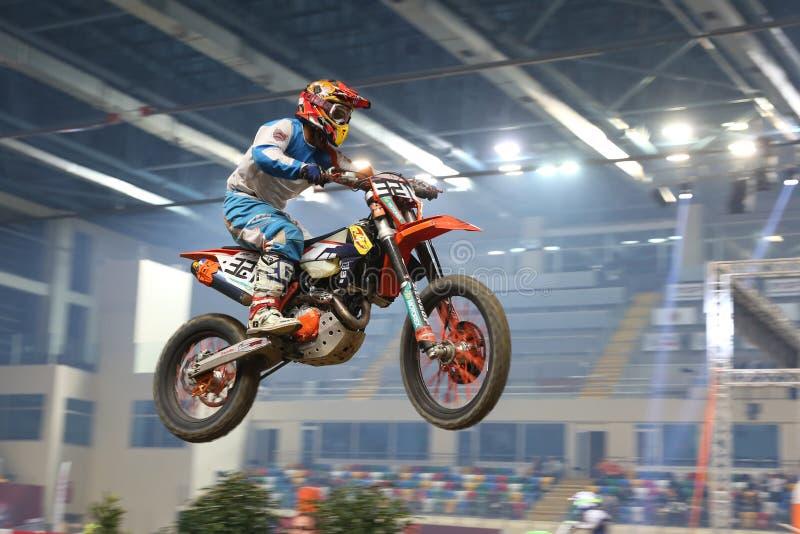 Campionato di supercross di Costantinopoli fotografia stock libera da diritti
