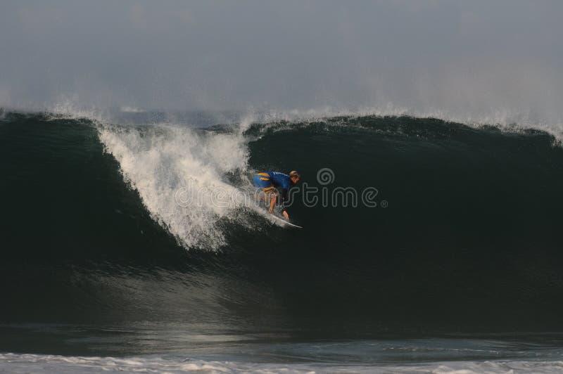Campionato di surf a Rio de Janeiro fotografie stock