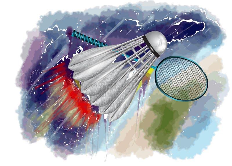 Campionato di volano royalty illustrazione gratis