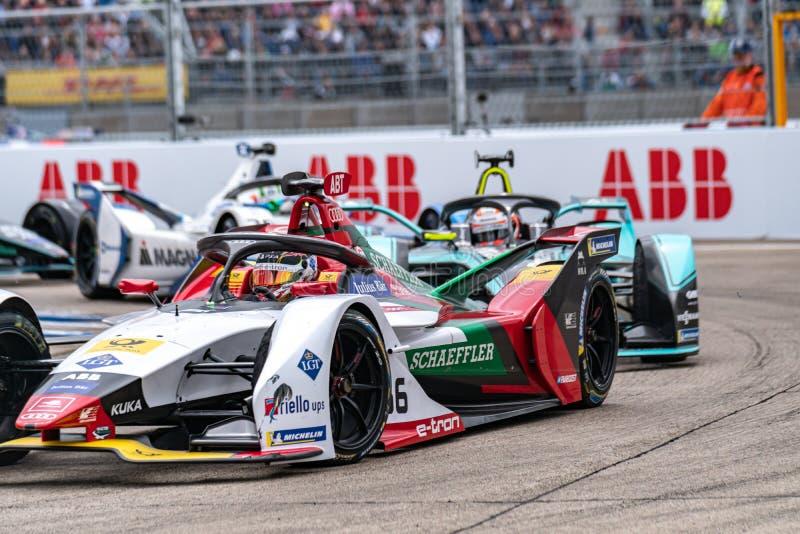 Campionato FIA di Formula E-prix immagini stock libere da diritti