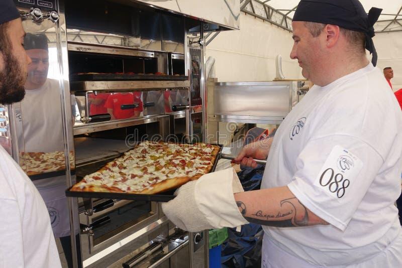 Campionato italiano assoluto di pizza immagine stock