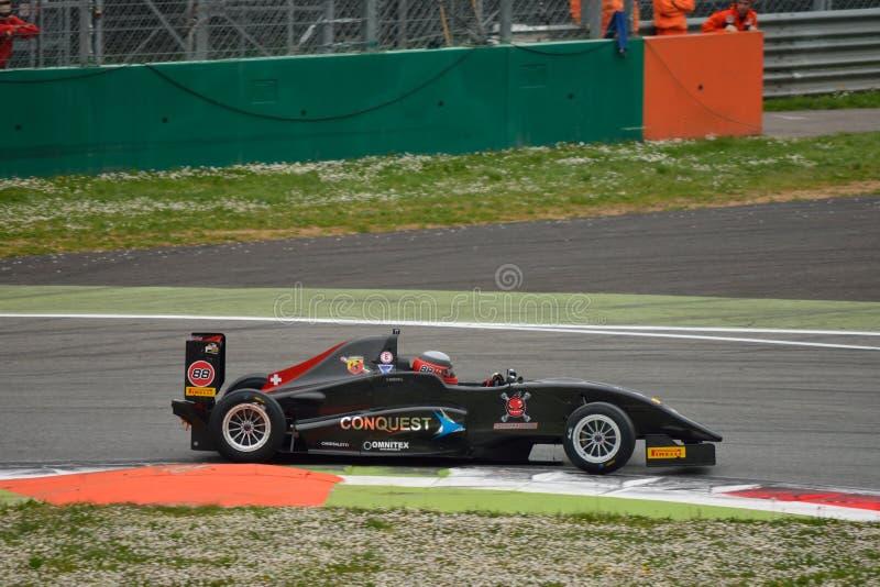Campionato italiano Fiat Abarth 2015 di formula 2 a Monza immagine stock