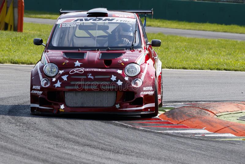 Campionato Italiano Gran Turismo fotografering för bildbyråer