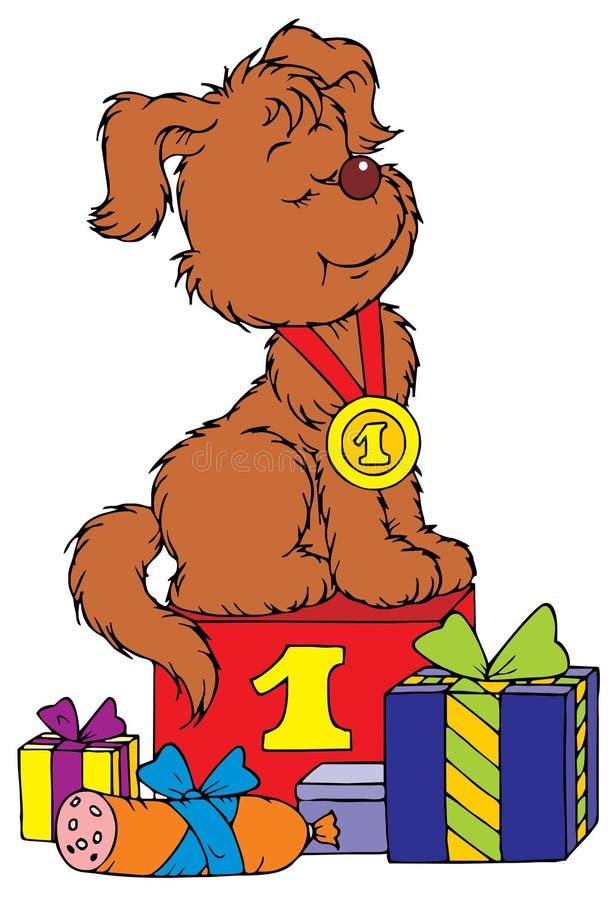 Campione del cucciolo royalty illustrazione gratis