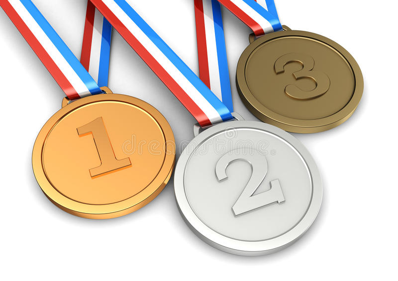 Campione di sport di simbolo illustrazione vettoriale