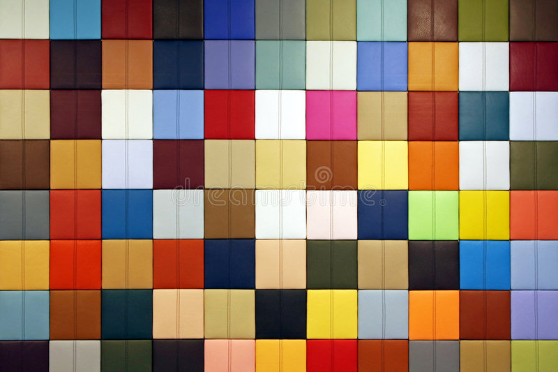 Campioni di colore fotografie stock libere da diritti