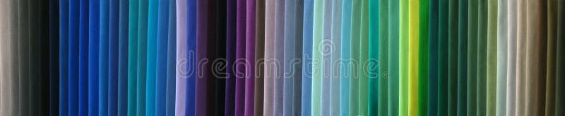 Campioni di colore del tessuto immagini stock