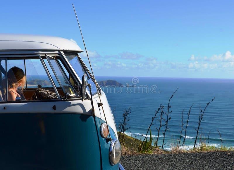 Campista de VW foto de archivo libre de regalías