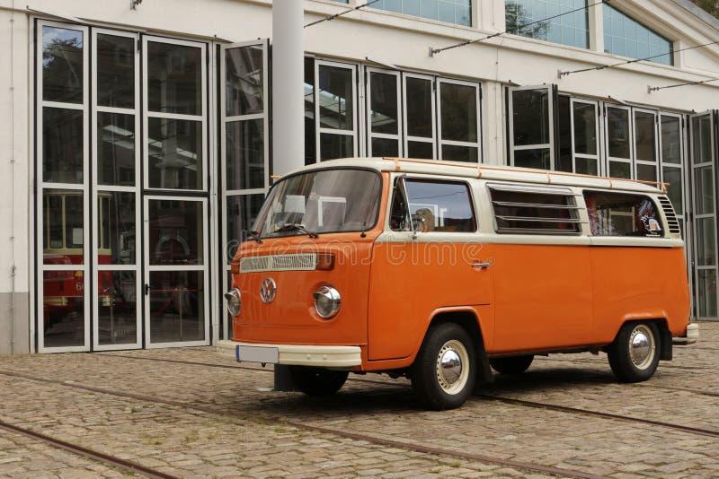 Campista Van da VW imagem de stock royalty free