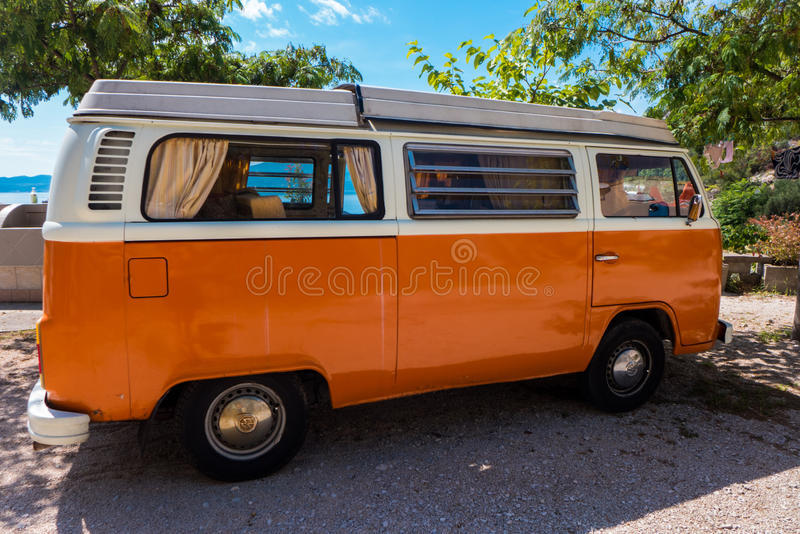 Campista Van de Volkswagen fotos de stock