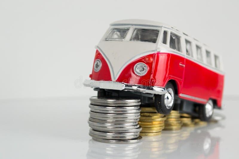 Campista viejo clásico de VW hecho por el Corgi foto de archivo libre de regalías