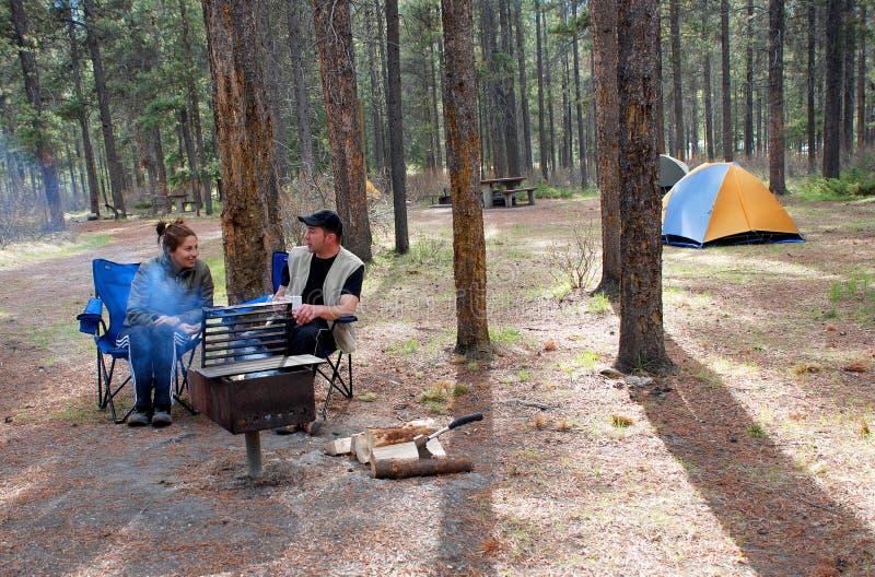 Campistas fotos de stock royalty free