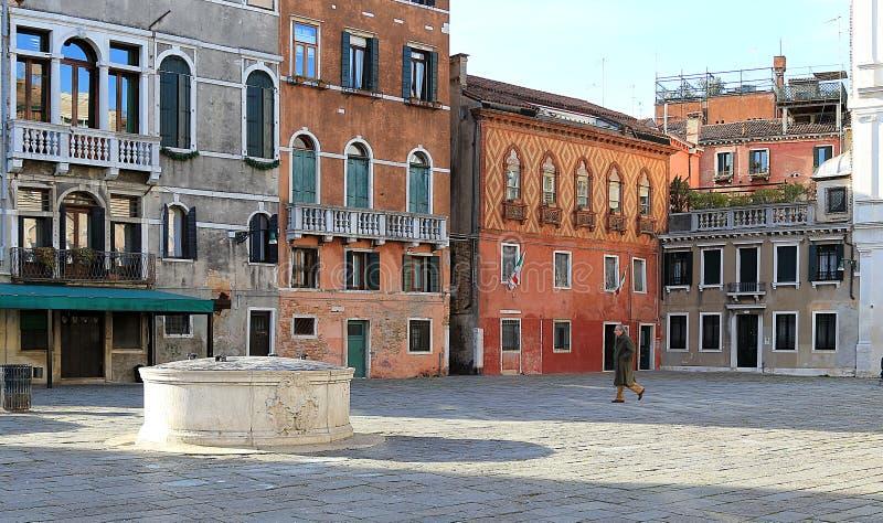 Campo Σάντα Μαρία Φορμόζα στη Βενετία στοκ φωτογραφία με δικαίωμα ελεύθερης χρήσης