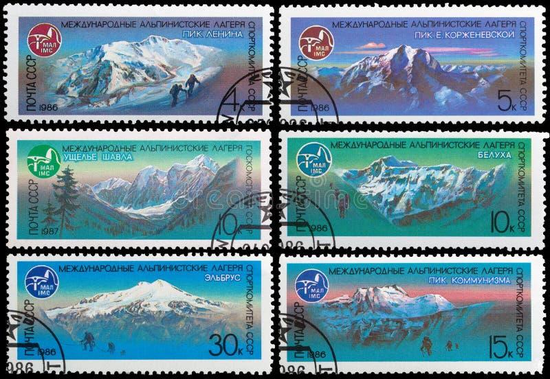 Campo alpino della montagna immagine stock