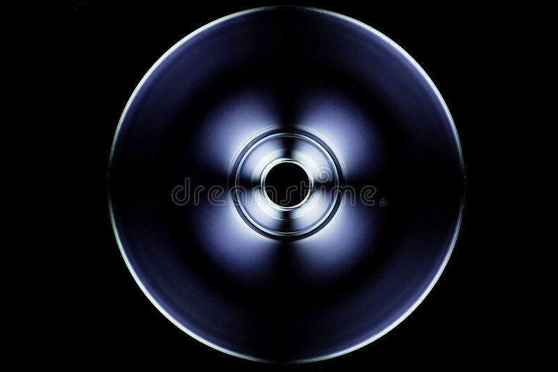 Campo CD, escuro fotografia de stock