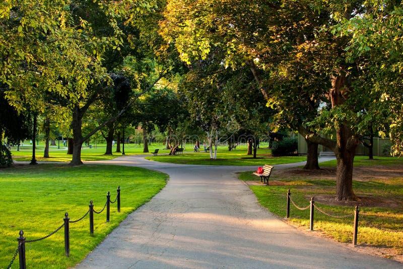 Campo común de Boston fotografía de archivo