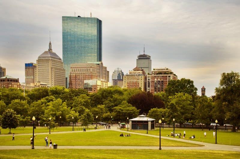 Campo común de Boston foto de archivo
