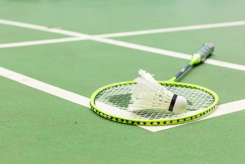 Campo da badminton fotografie stock libere da diritti