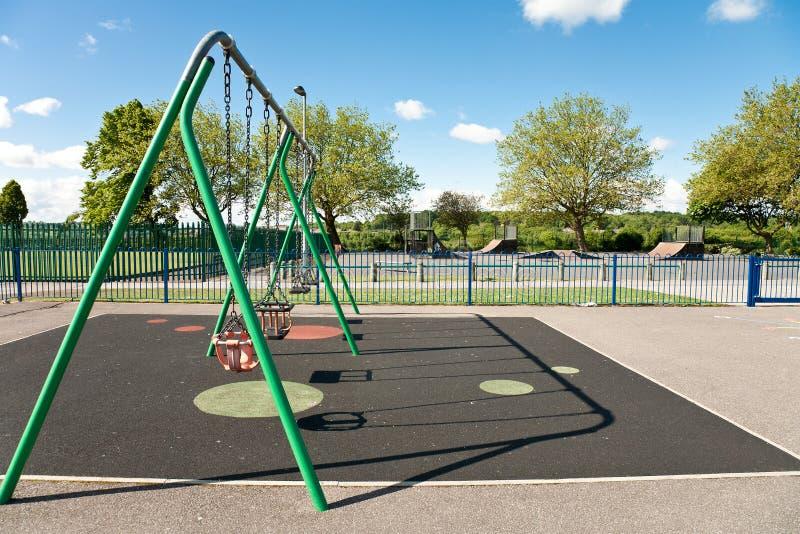 Campo da gioco per bambini fotografie stock