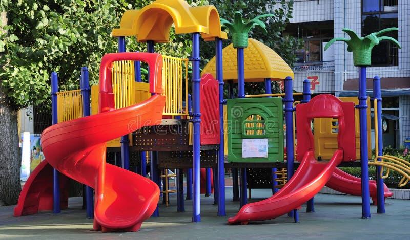 Campo da gioco per bambini immagine stock libera da diritti