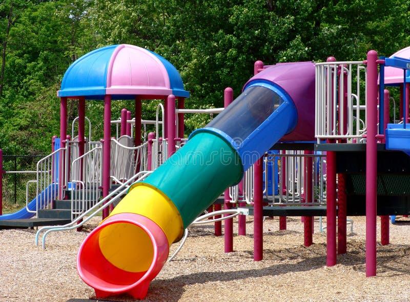 Campo da gioco per bambini immagine stock