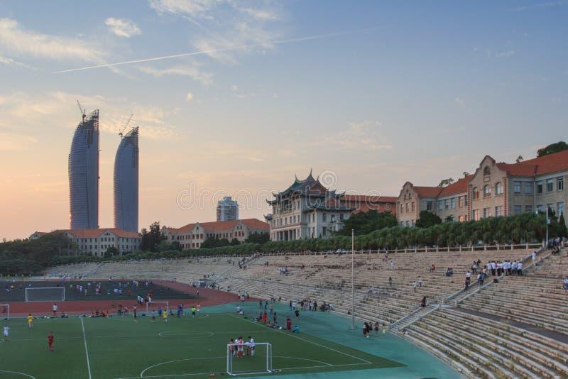 Campo da giuoco dell'università di Xiamen immagini stock