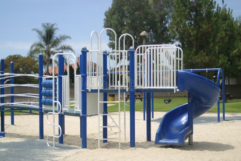Campo da giuoco per Children& x27; s fotografie stock