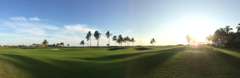 Campo da golf immagine stock