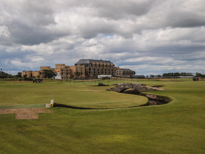 Campo da golf della st Andrews Links Old Course fotografie stock