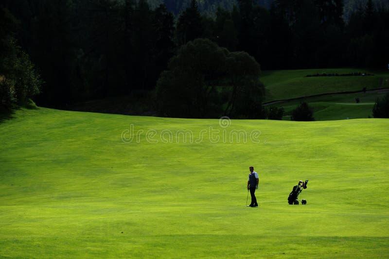 Campo da golf - repubblica Ceca fotografia stock libera da diritti