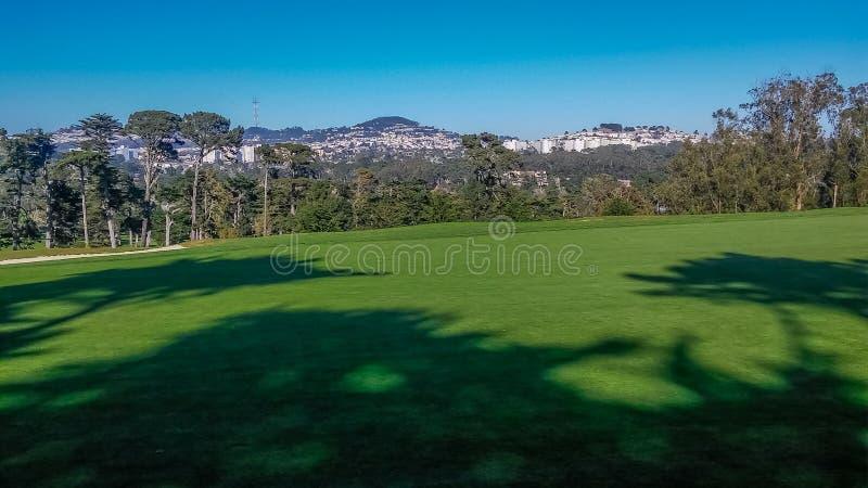 Campo da golf scenico di California fotografie stock libere da diritti