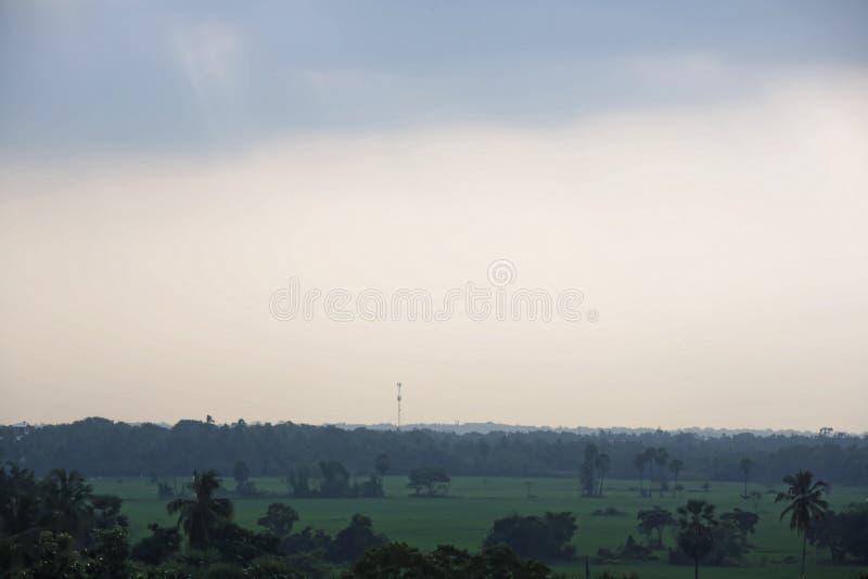 Campo da paisagem foto de stock