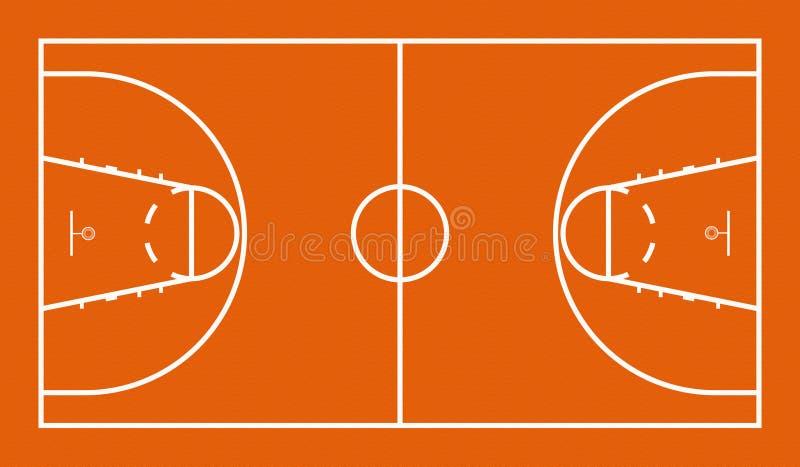 Campo da pallacanestro illustrazione di stock - Immagini stampabili di pallacanestro ...