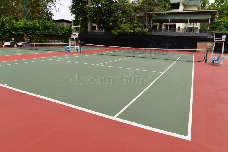 Campo da tennis immagini stock