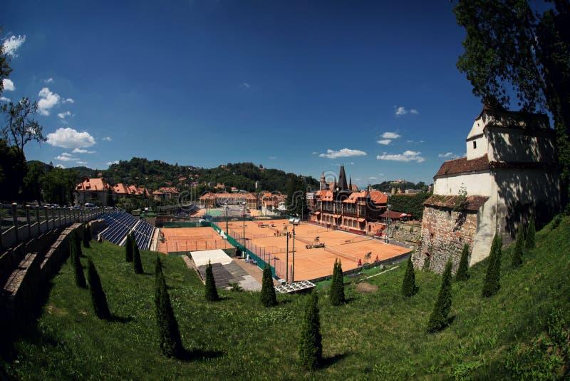 Campo da tennis immagine stock