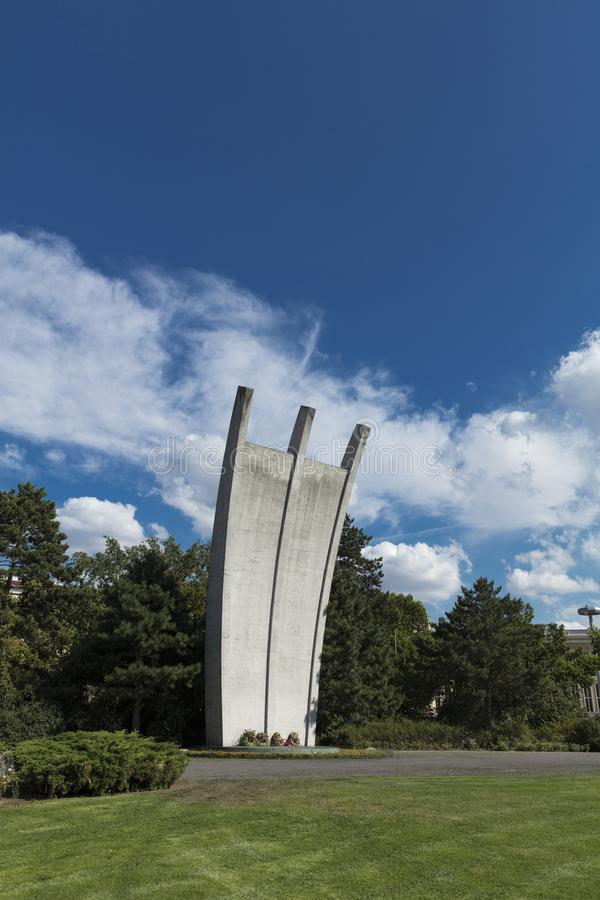 Campo de aviación de Tempelhof, Berlín, Alemania: 15 de agosto de 2018: Berlin Ai fotos de archivo libres de regalías