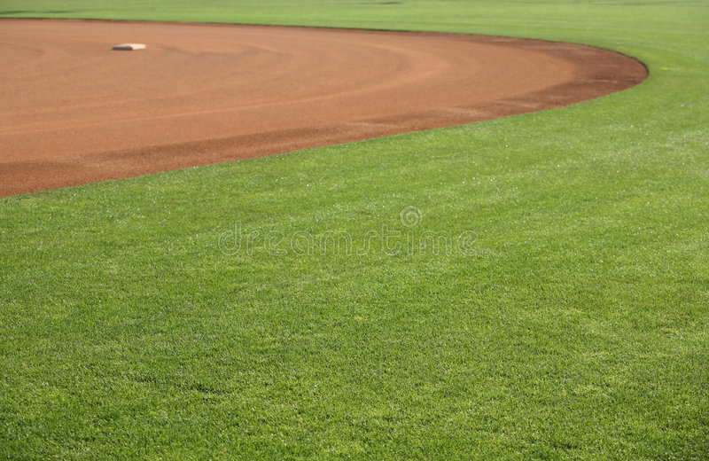Campo de béisbol americano 2 fotos de archivo