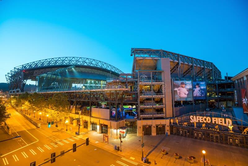 Campo de CenturyLink em Seattle foto de stock royalty free