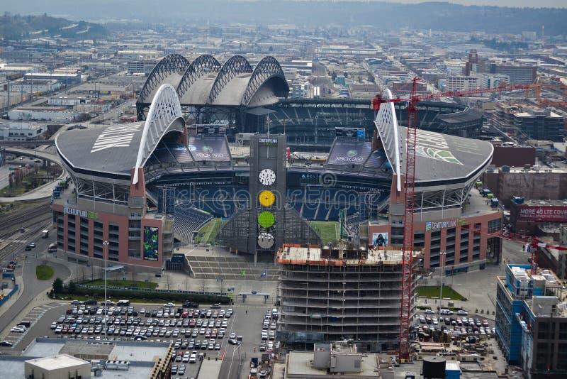 Campo de CenturyLink, Seattle, Washington imagen de archivo libre de regalías