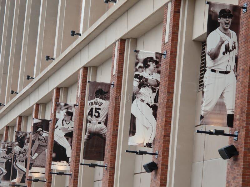Campo de Citi - New York Mets imagem de stock royalty free