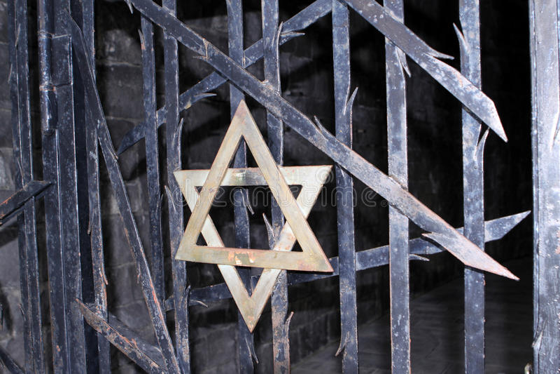 Campo de concentração de Dachau fotos de stock