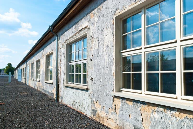 Campo de concentração de Ravensbruck fotografia de stock royalty free