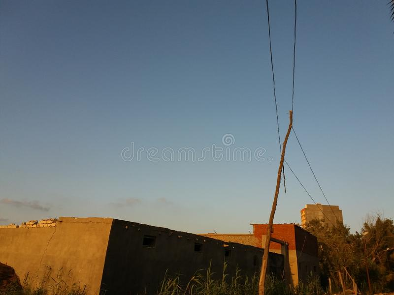 Campo de Egipto imagenes de archivo
